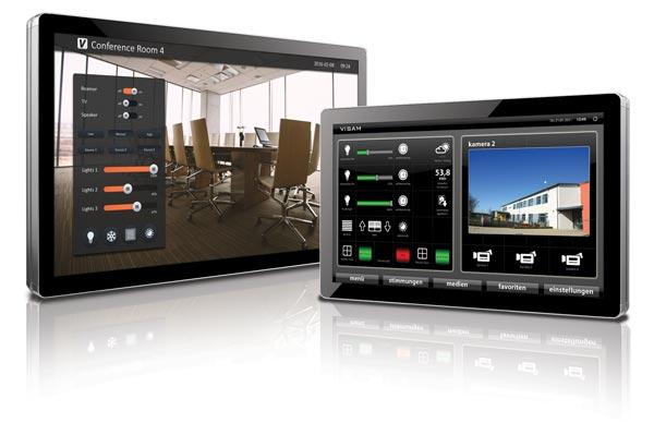 VBASE Touch Panels for building automation.